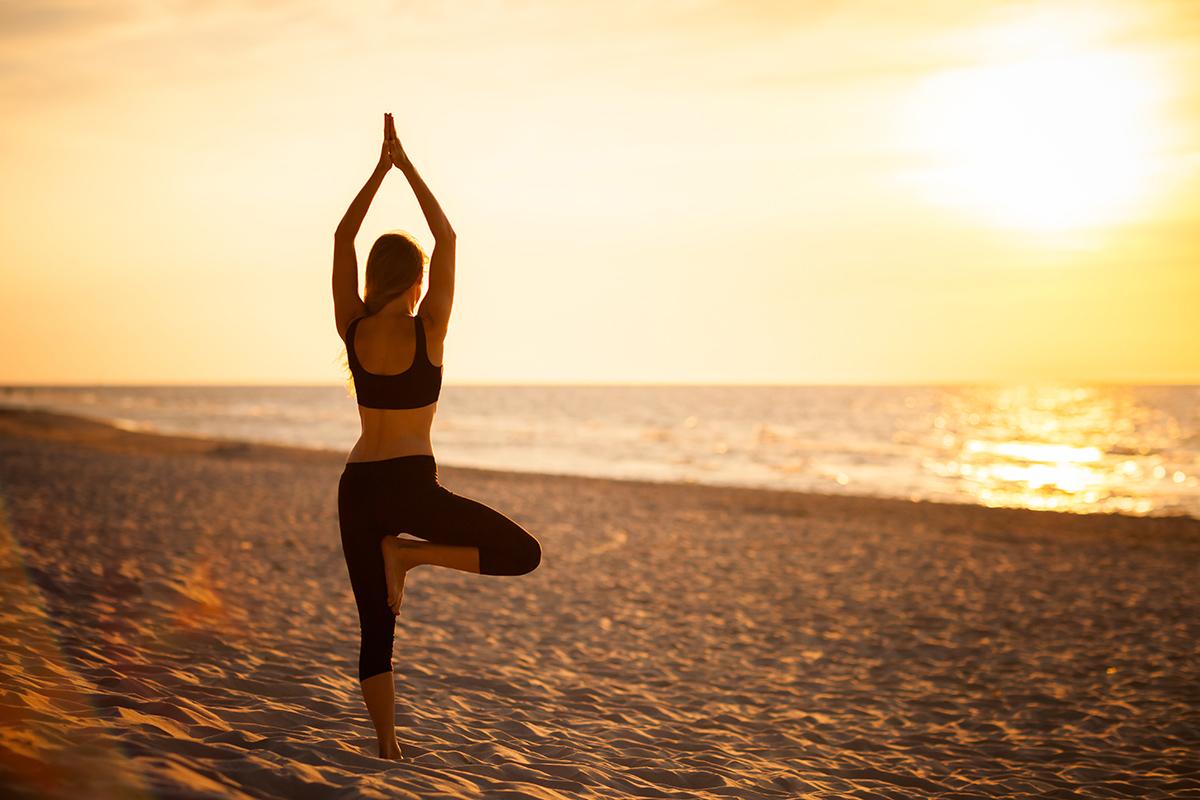 zdjecia jogi fotograf reklamowy bielsko 3 Joga nad morzem   zdjęcia reklamowe Śląsk
