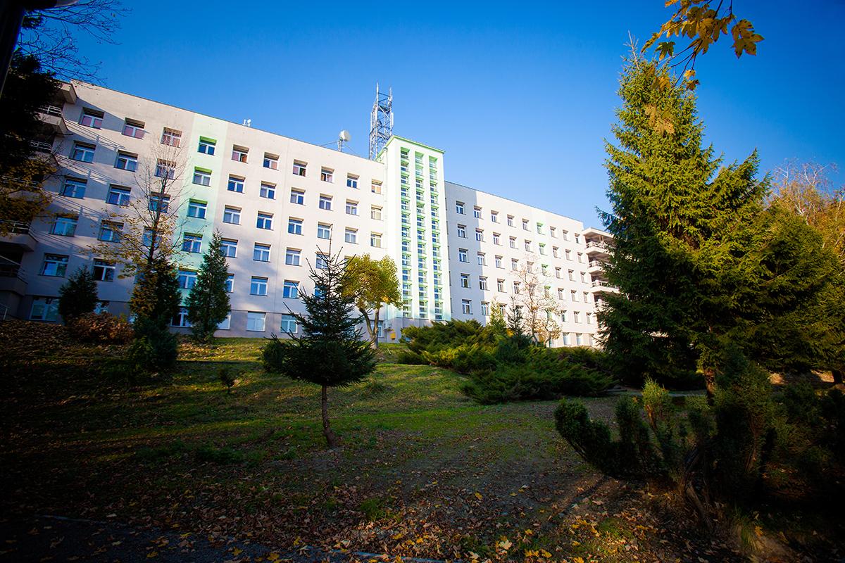fotografia reklamowa szpital bystra 18 Centrum Pulmonologii i Torakochirurgii w Bystrej