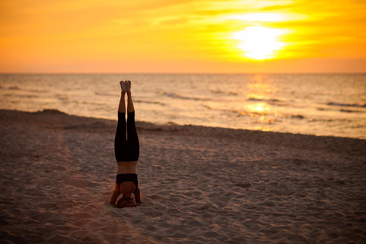 zdjecia jogi fotograf reklamowy bielsko 4 Joga nad morzem   zdjęcia reklamowe Śląsk