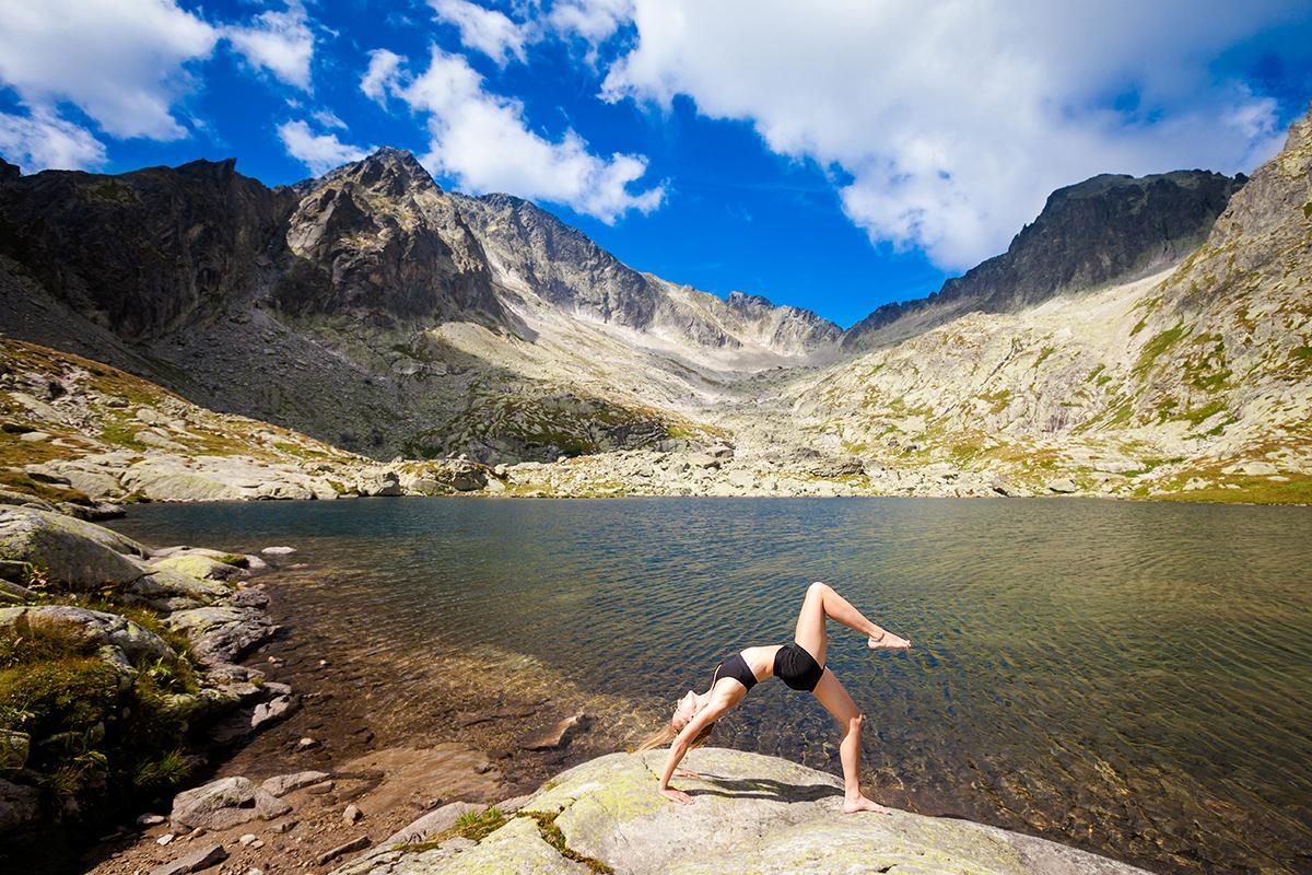 fotografia reklamowa slask zdjecia jogi 1 Sesja jogi w Tatrach