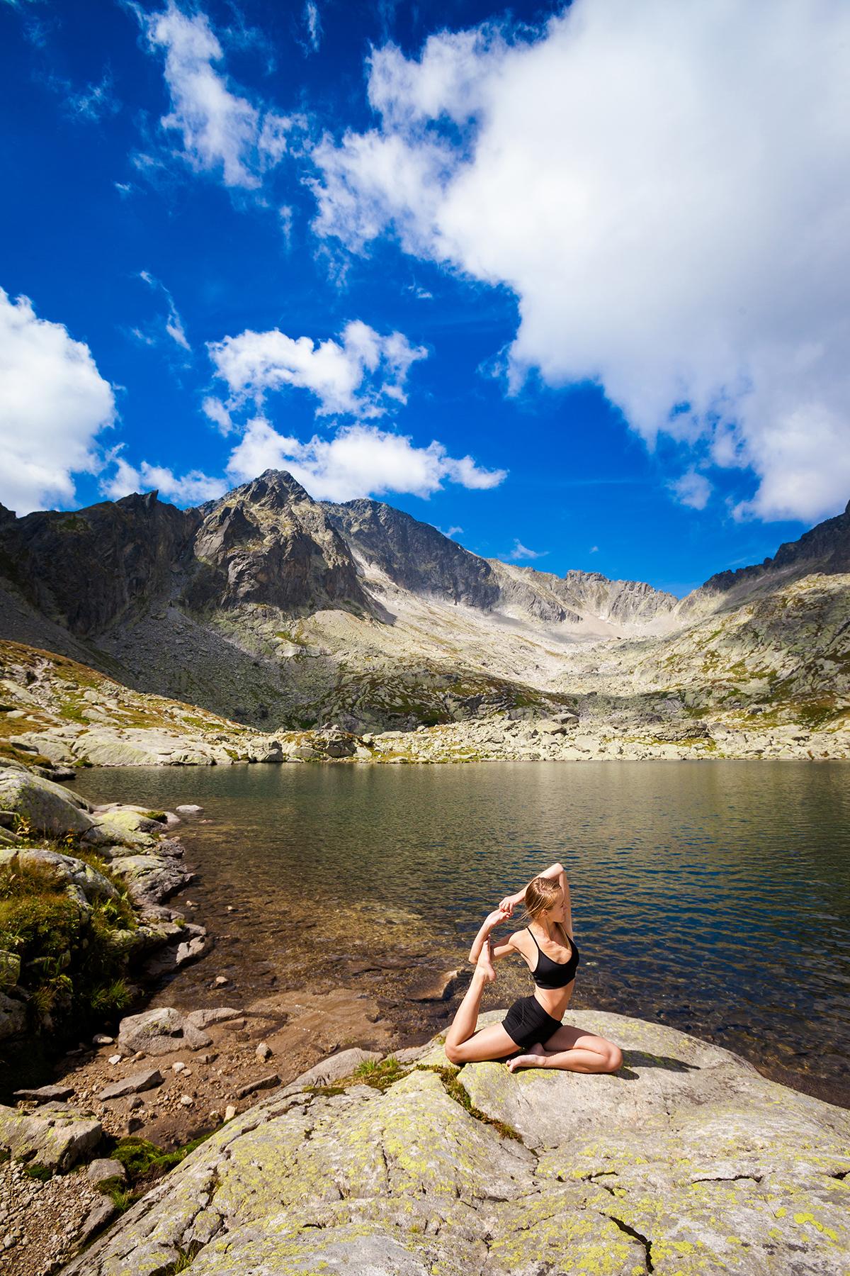 fotografia reklamowa slask zdjecia jogi 2 Sesja jogi w Tatrach
