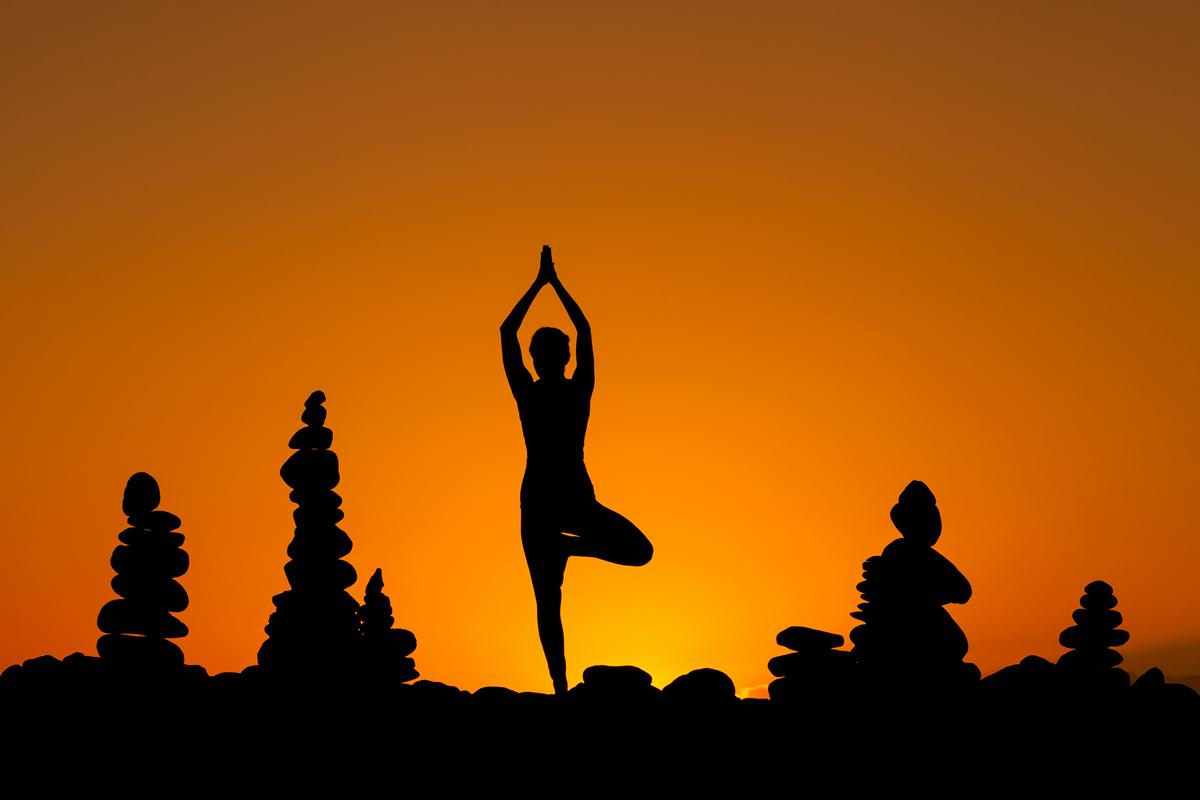profesjonalna sesja jogi Słoneczna sesja Jogi