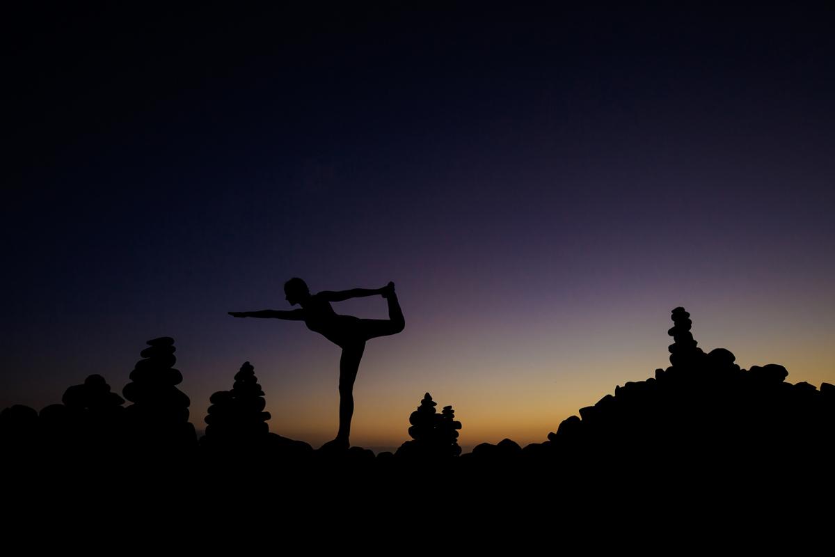 sesja dla studia jogi bielsko Słoneczna sesja Jogi