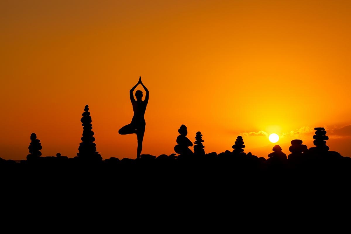sesje jogi slask Słoneczna sesja Jogi